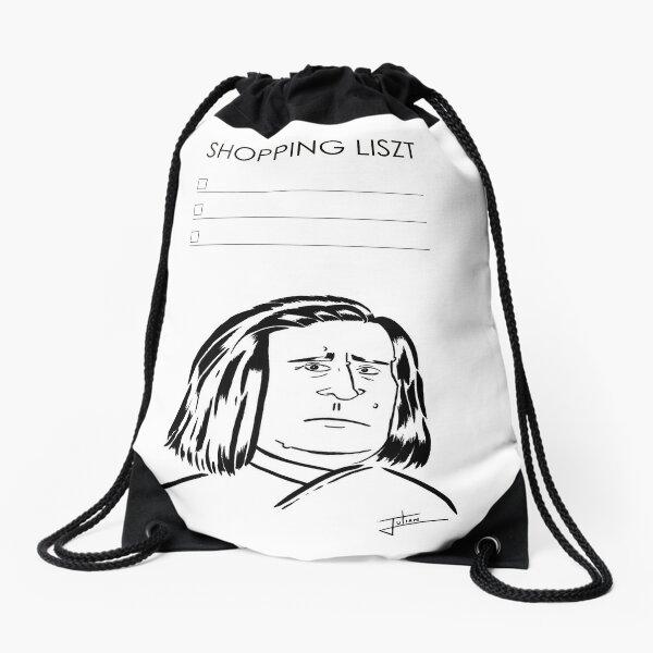 Shopping Liszt Drawstring Bag