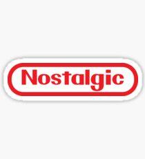 NES Collection : Nostalgic Logo Sticker