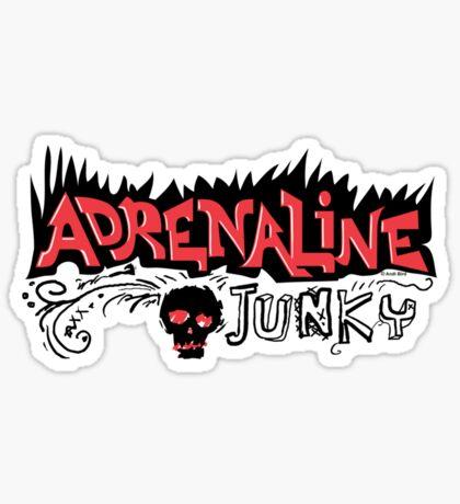Adrenaline Junky  Sticker