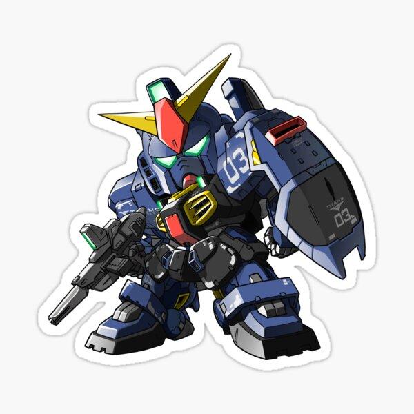 SD Gundam Mk II - Titans colors (Unit 03) Sticker