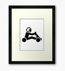 Kart Framed Print
