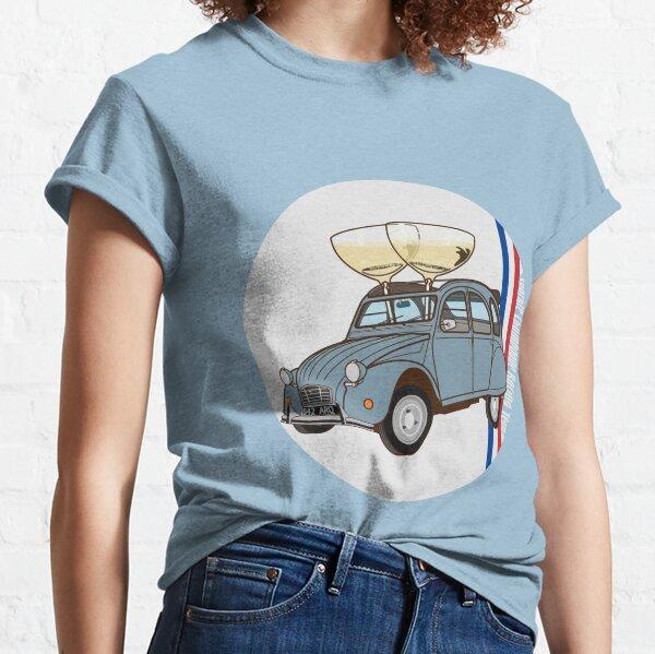 Citroen 2CV - Champagne Racing Classic T-Shirt