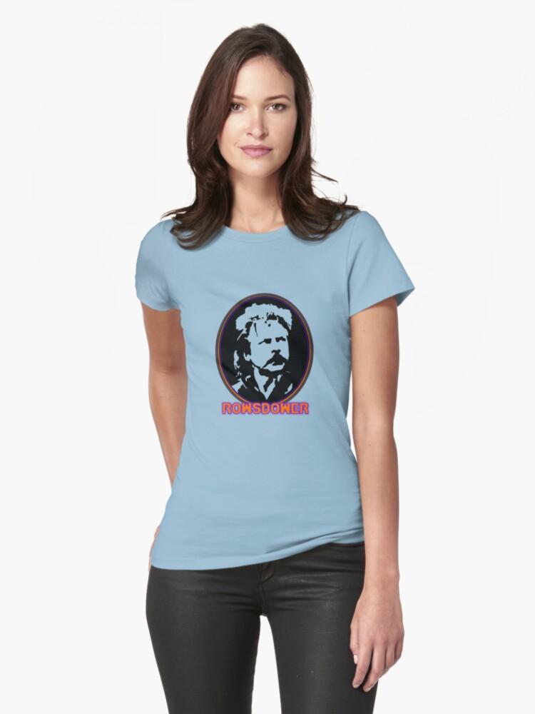 ROWSDOWER! Womens T-Shirt Front