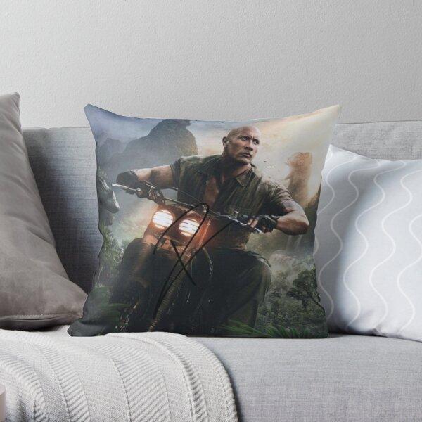 dwayne johnson Throw Pillow