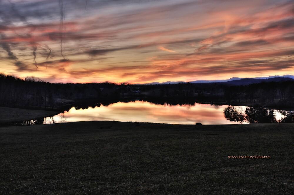 Mountain Run Lake by PJS15204