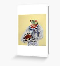 Frog Mission Greeting Card