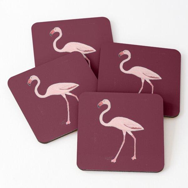Flamingo Coasters (Set of 4)