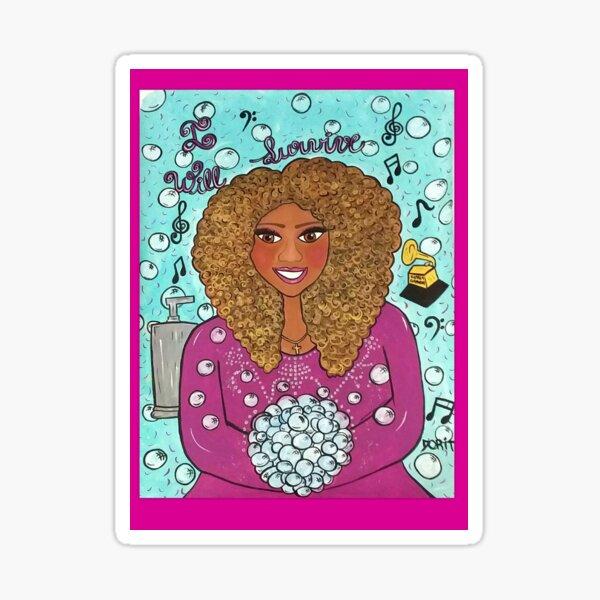 Queen Gloria Sticker