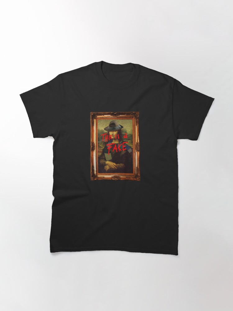 Alternate view of This is a Fake Classic T-Shirt