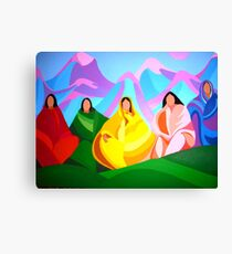 Ladies of the Community Canvas Print