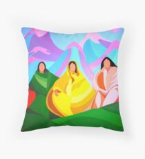 Ladies of the Community Throw Pillow