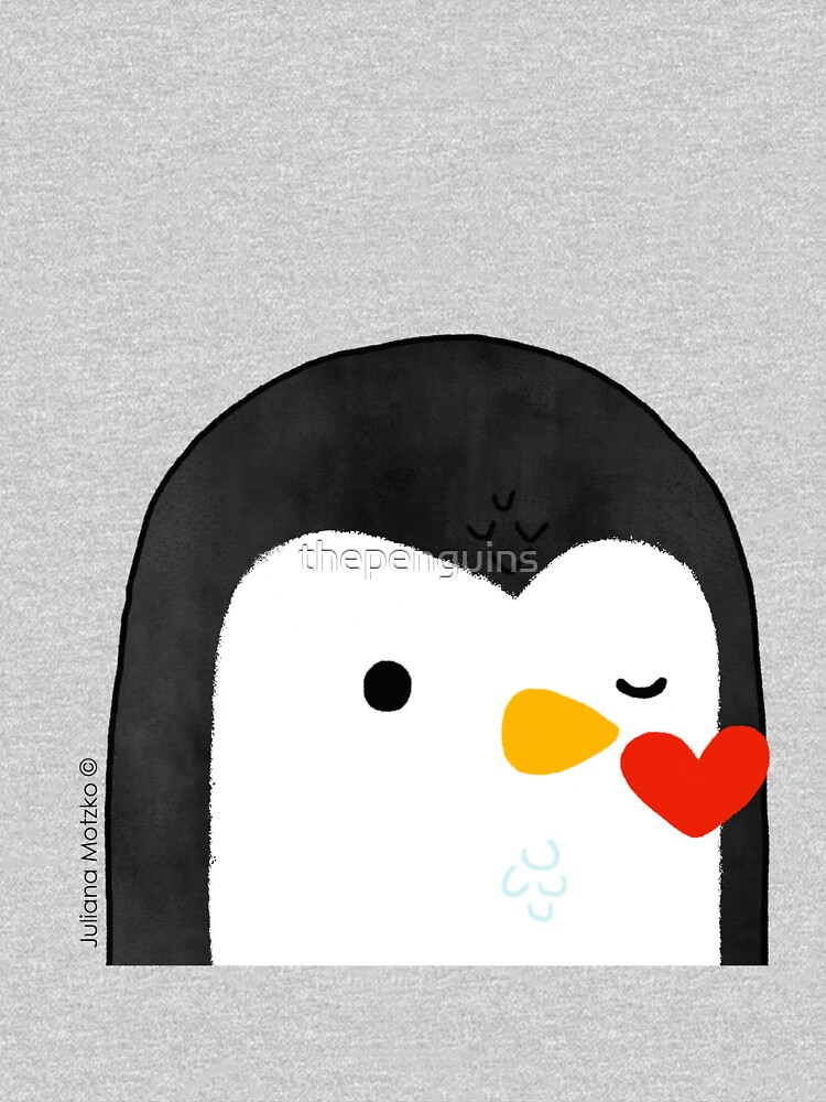 Penguin Kiss Emoji by thepenguins