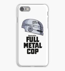Full Metal Cop iPhone Case/Skin