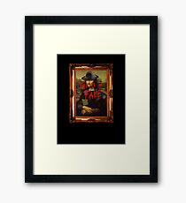 This is a Fake Framed Print