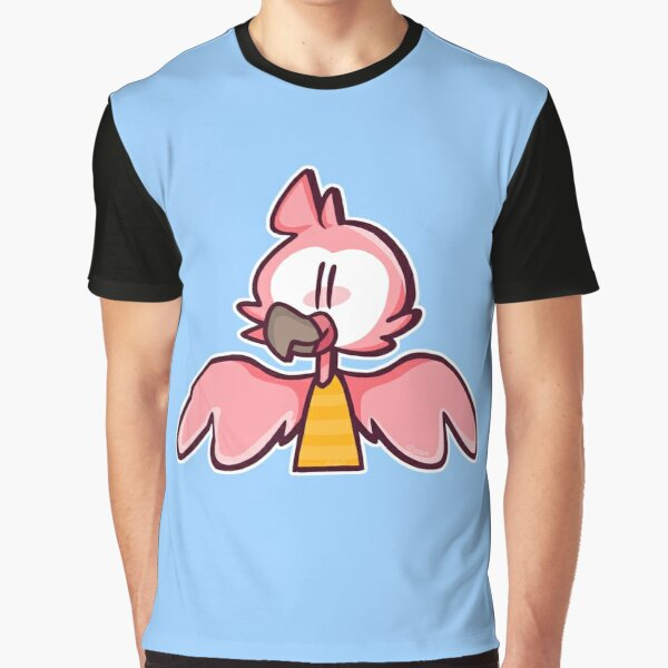 Flamingo Cartoon Graphic T-Shirt