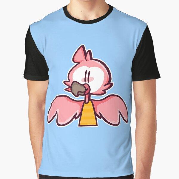 Flamingo Cartoon Graphic T-Shirt