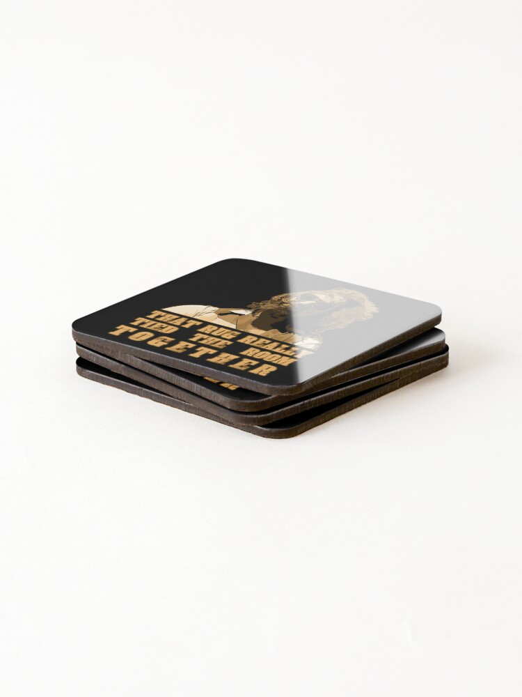 Alternate view of That Rug... (The Big Lebowski) Coasters (Set of 4)