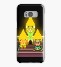 Link Evolution with Triforce Samsung Galaxy Case/Skin