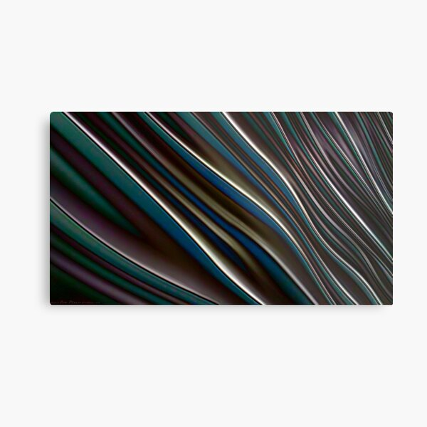 Dream Waves Abstract Photography Art Metal Print
