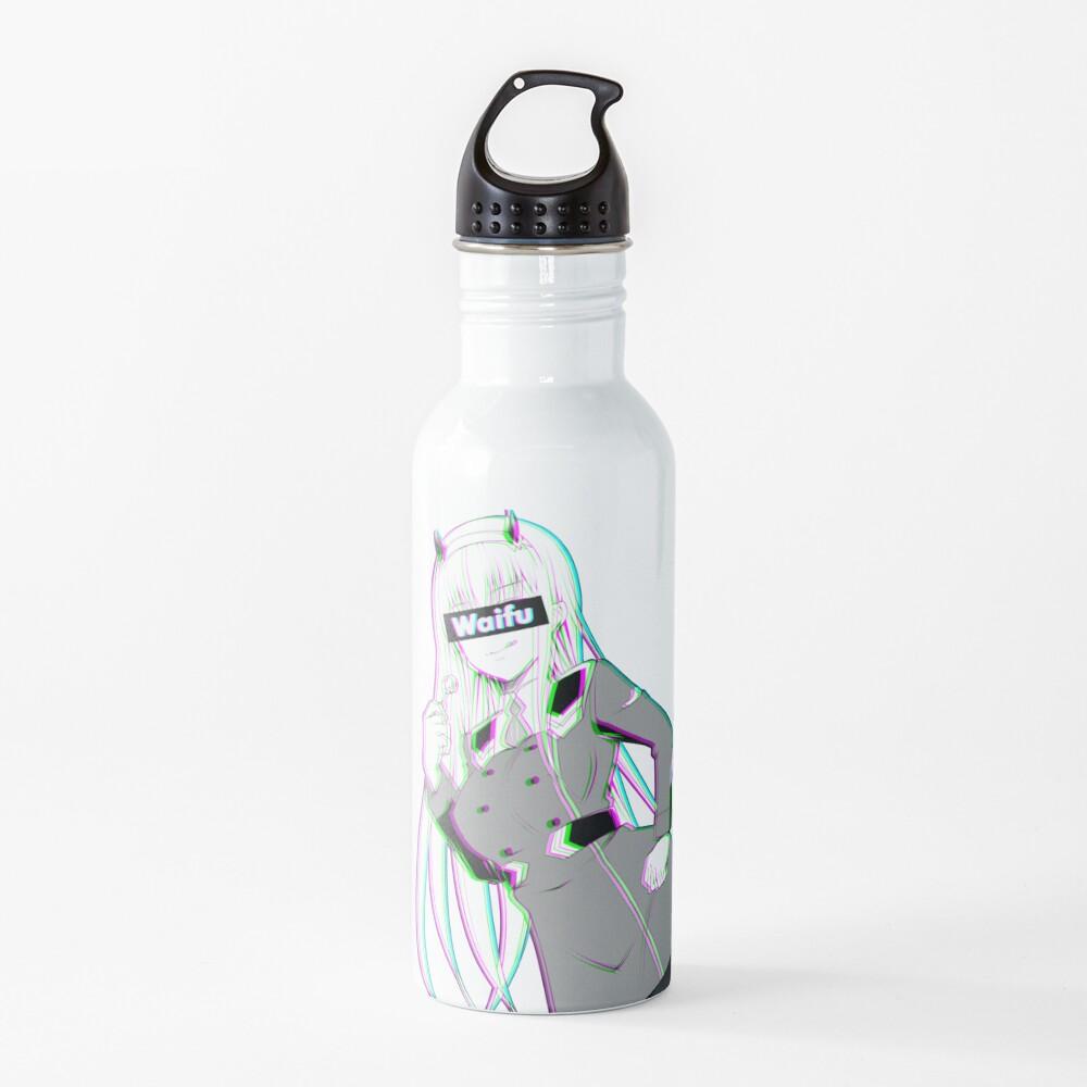 Zero Two Waifu Water Bottle