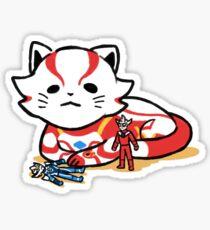 [Ultraman] Ultraman Mebius (Cat ver.) Sticker