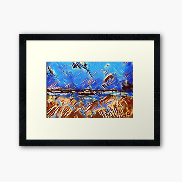 Holiday Dreaming 24 designed and created by (c) Janet Watson Art Framed Art Print