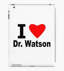 I Love Doctor Watson iPad Case/Skin
