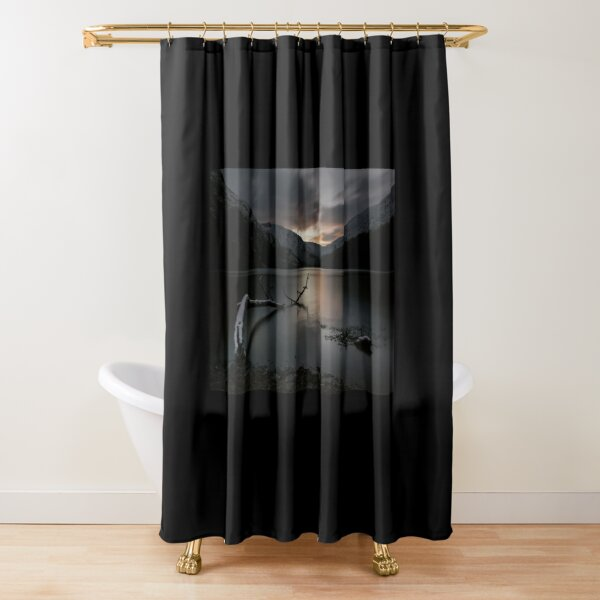 Glendalough Upper Lake Shower Curtain