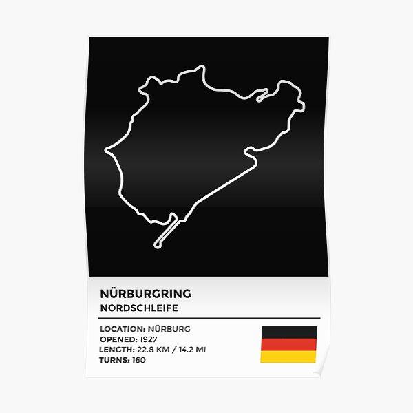 Nürburgring - Nordschleife [info] Poster