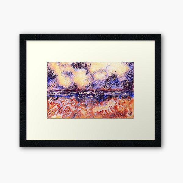 Holiday Dreaming 31 designed and created by (c) Janet Watson Art Framed Art Print