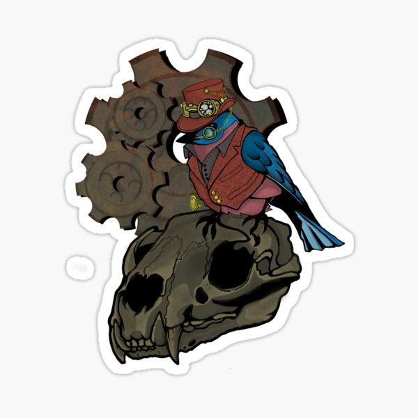 The Victorious Baron Von Bluebird Sticker