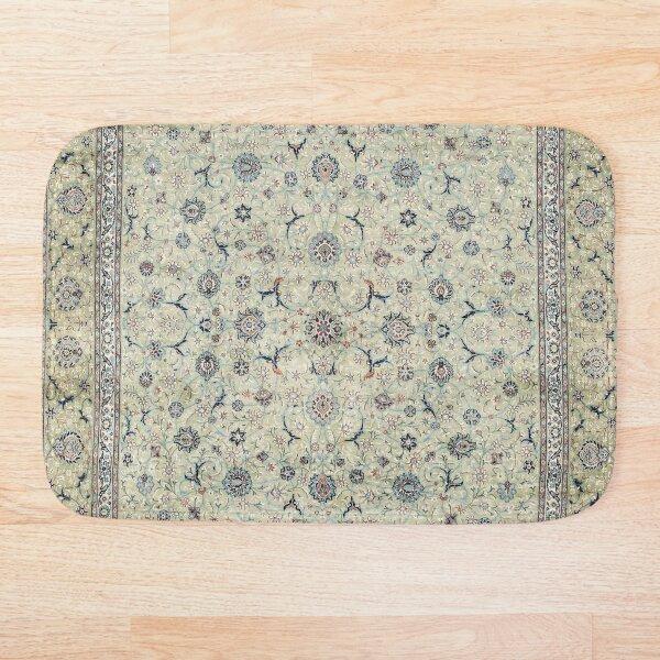 Kashan Isfahan Persian Carpet Print Bath Mat