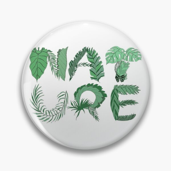 Nature Jungle leaves Pin