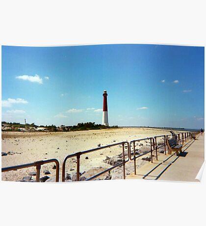 Barnegat Light, Old Barney, Long Beach Island, New Jersey Poster