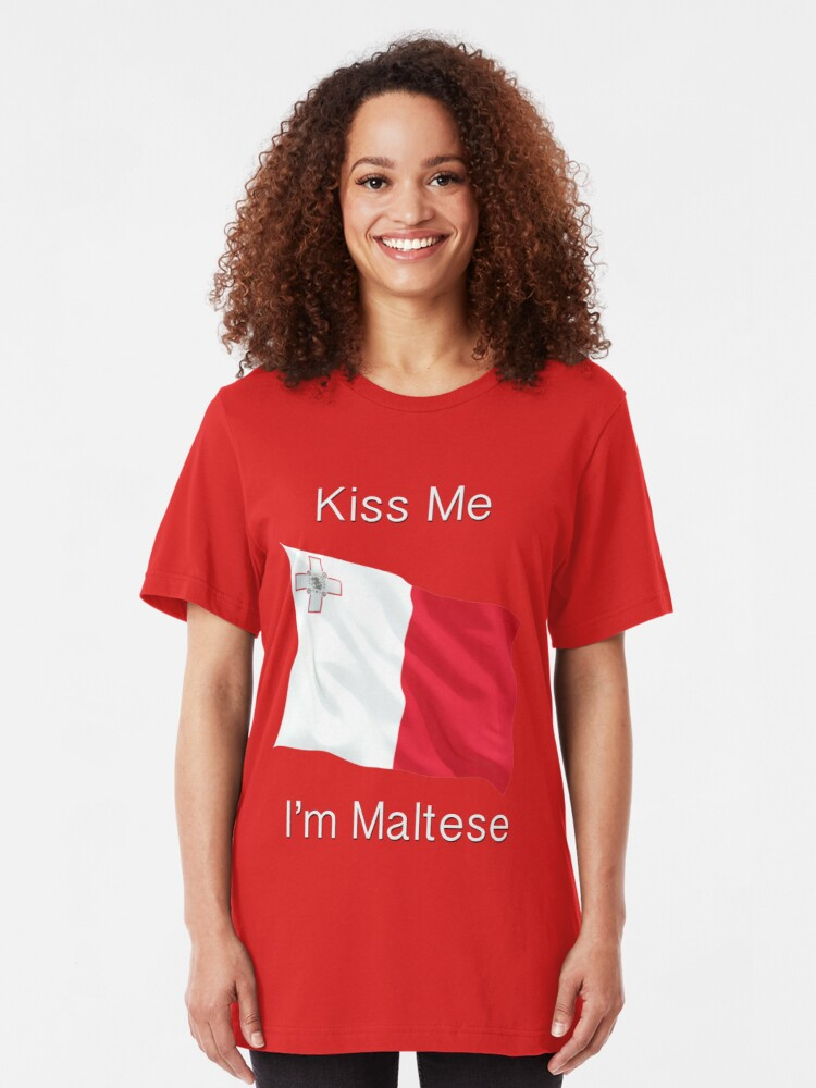 Gift Kids Malta Maltese Princess T-shirt Ladies