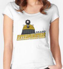 Skaro Exterminators Women's Fitted Scoop T-Shirt
