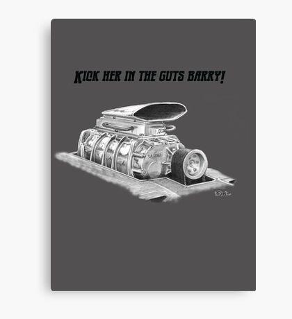 Mad Max Interceptor Supercharger Canvas Print