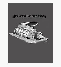 Mad Max Interceptor Supercharger Photographic Print