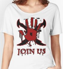"""***AWESOME*** Dark Brotherhood """"JOIN US"""" Women's Relaxed Fit T-Shirt"""