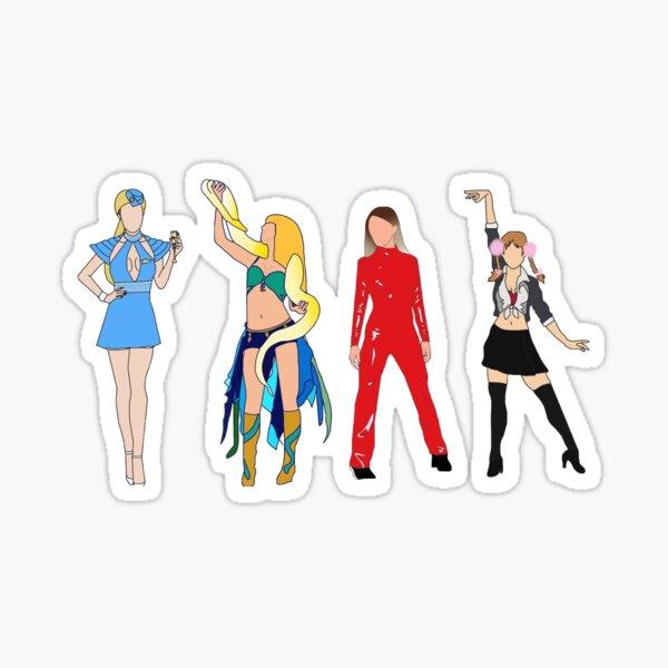 Clips Britney Spears Sticker