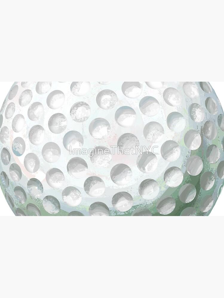 Golf Ball by ImagineThatNYC