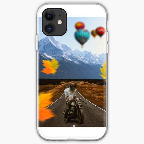 motobiker iPhone Soft Case