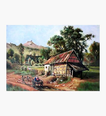 In the Foothill after Albert Bierstadt Photographic Print