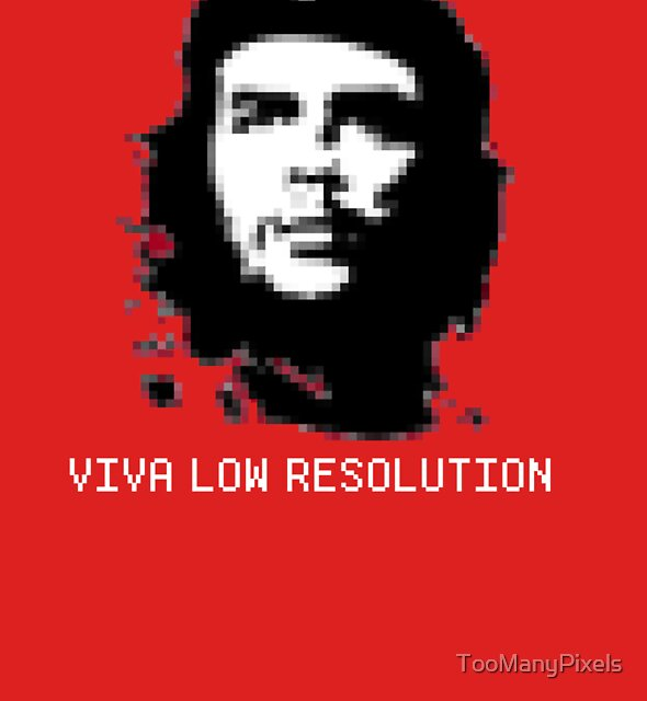 Viva Low Resolution by TooManyPixels