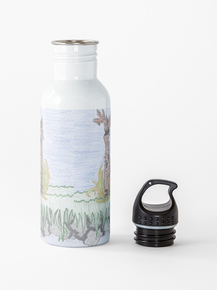 Alternate view of Merch #10 -- Rural decadence. Water Bottle