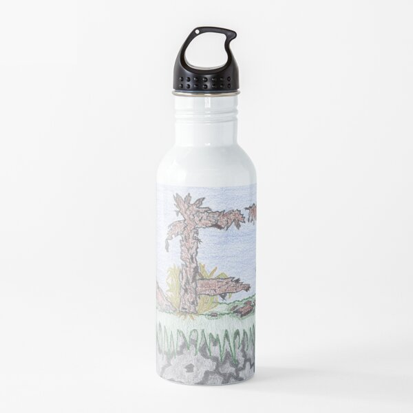 Merch #10 -- Rural decadence. Water Bottle