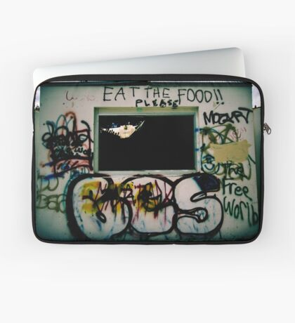 Please Eat The Food Laptoptasche