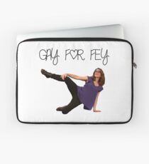 Gay for Fey Laptop Sleeve
