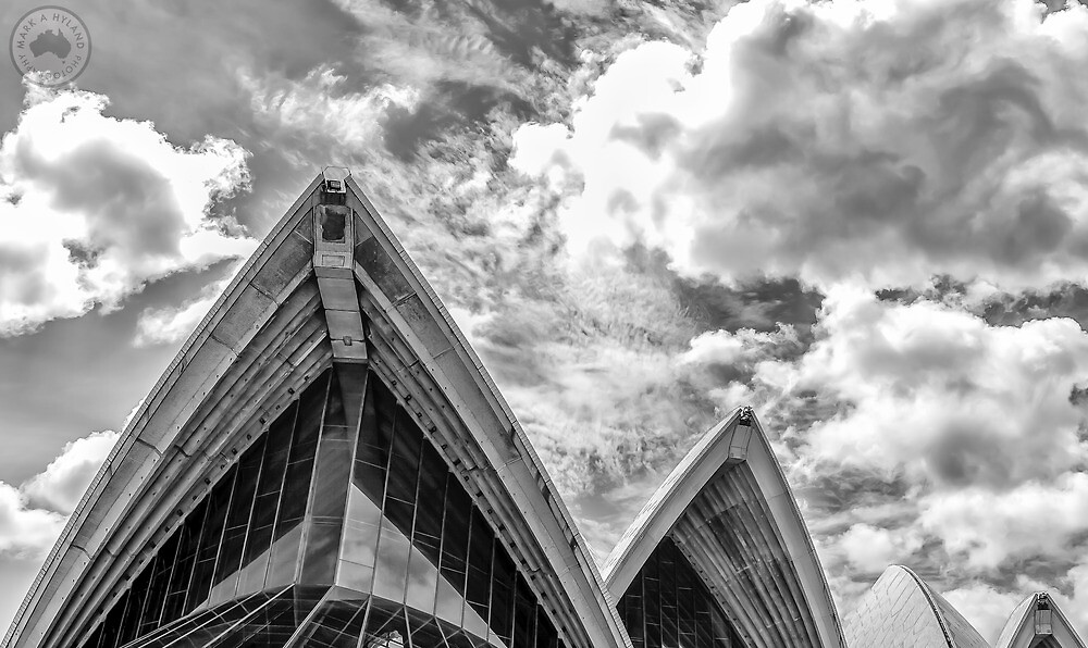 flat,1000x1000,075,f - 40+ Black And White Pictures Of Sydney Opera House  Background