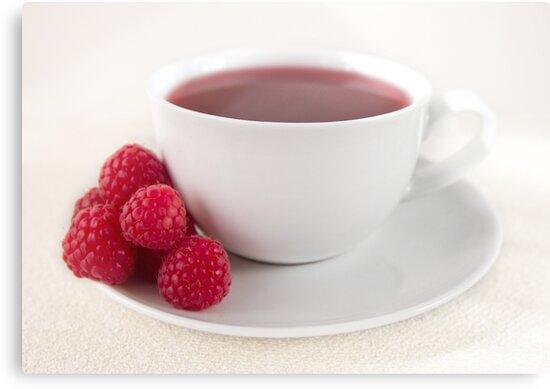 Raspberry Tea by Evelyn Flint